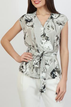 Блуза Chateau Fleur. Цвет: серый