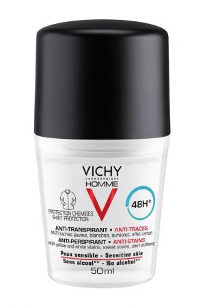 Дезодорант-антиперспирант VICHY. Цвет: белый