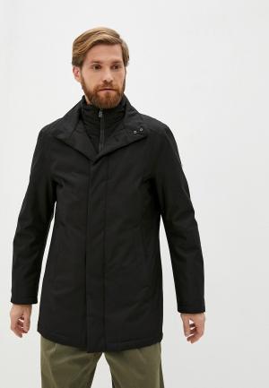 Куртка утепленная Daniel Hechter. Цвет: черный