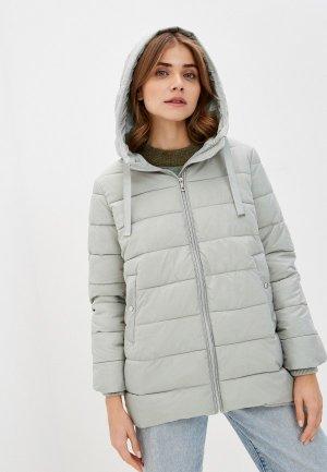 Куртка утепленная Zolla. Цвет: бирюзовый