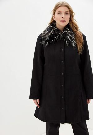 Пальто Brave Soul. Цвет: черный