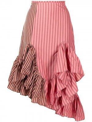 MarquesAlmeida юбка в технике пэчворк Marques'Almeida. Цвет: розовый
