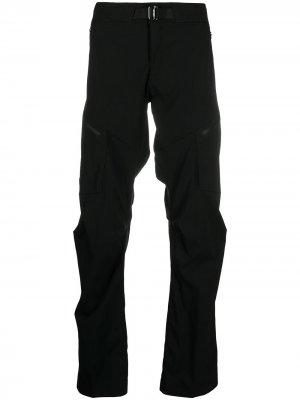 Arcteryx прямые брюки Palaside Arc'teryx. Цвет: черный