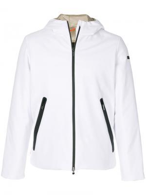 Утепленная куртка на молнии Rrd. Цвет: белый