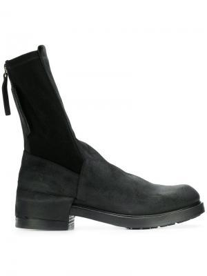 Ботинки в стиле милитари Cinzia Araia. Цвет: черный