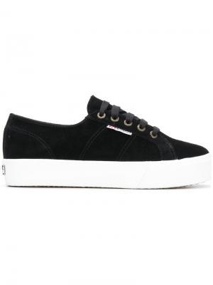 2790 platform sneakers Superga. Цвет: черный