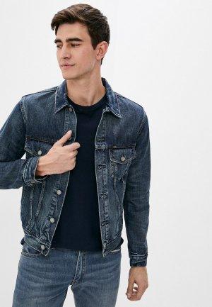 Куртка джинсовая Polo Ralph Lauren. Цвет: синий