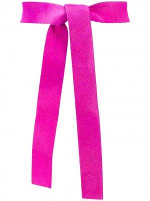Пояс из шерсти пони Forte. Цвет: розовый
