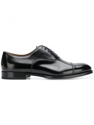 Lace-up Derby shoes Doucal's. Цвет: черный