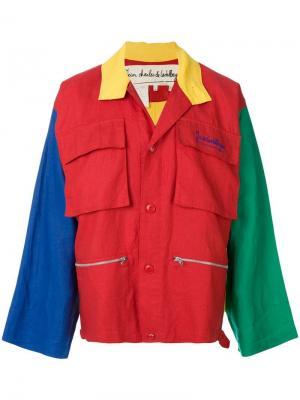 Куртка колор-блок JC de Castelbajac Pre-Owned. Цвет: разноцветный