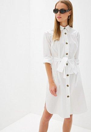 Платье French Connection. Цвет: белый