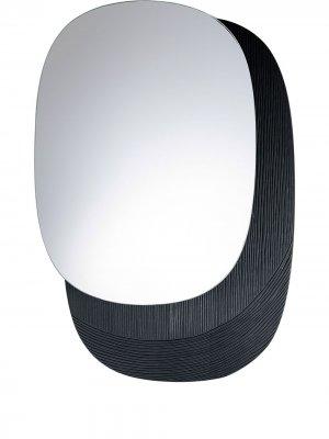 Настенное зеркало Eclipse (45 см) Zanat. Цвет: черный