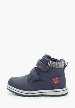 Ботинки Kenkä. Цвет: синий