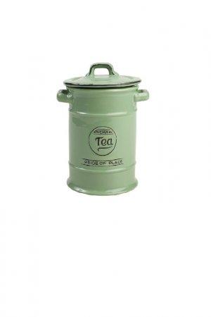 Ёмкость для хранения чая T&G. Цвет: зеленый