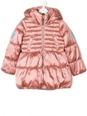 Hestia padded coat Molo. Цвет: розовый