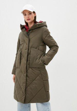 Куртка утепленная Rinascimento. Цвет: хаки
