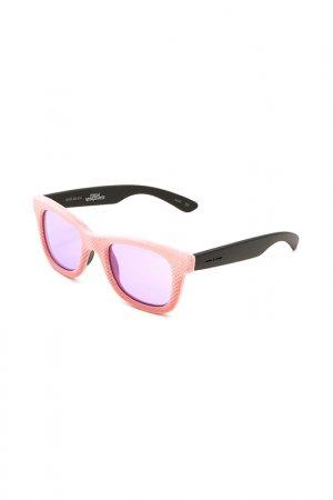 Очки солнцезащитные с линзами ITALIA INDEPENDENT. Цвет: 009 016 розовый