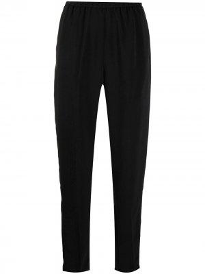 Зауженные брюки Forte. Цвет: черный