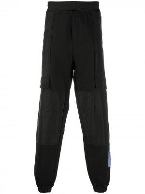Спортивные брюки Sid McQ Swallow. Цвет: черный