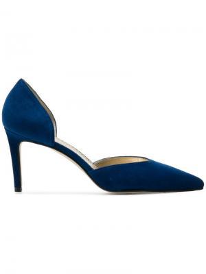 Туфли с вырезанными деталями Antonio Barbato. Цвет: синий