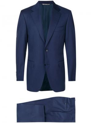 Classic formal suit Canali. Цвет: синий