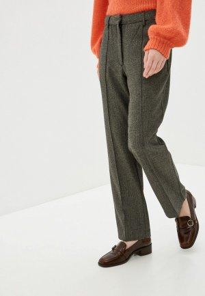 Брюки Pepe Jeans. Цвет: коричневый