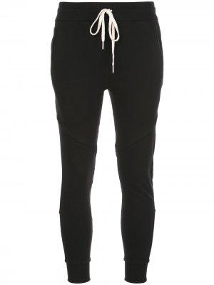 Спортивные брюки кроя слим с кулиской John Elliott. Цвет: черный