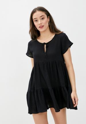 Платье пляжное Cotton On. Цвет: черный