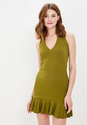Платье Edge Street. Цвет: хаки