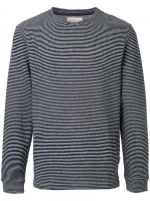 Полосатая футболка Berwick Oliver Spencer. Цвет: синий