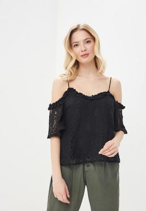 Блуза Sweewe. Цвет: черный