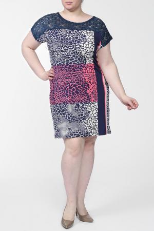 Платье First Orme. Цвет: синий