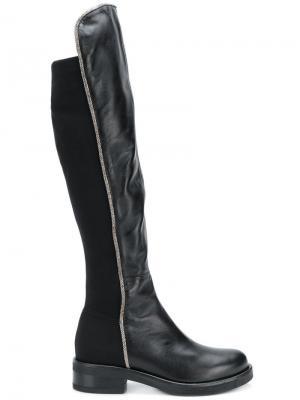 Knee boots Albano. Цвет: черный