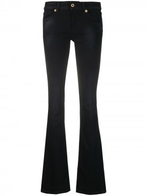 Расклешенные джинсы с заниженной талией Dondup. Цвет: черный