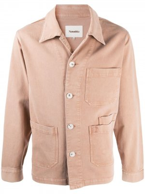 Джинсовая куртка o Nanushka. Цвет: нейтральные цвета
