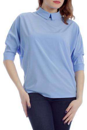 Блузка Lamiavita. Цвет: голубой