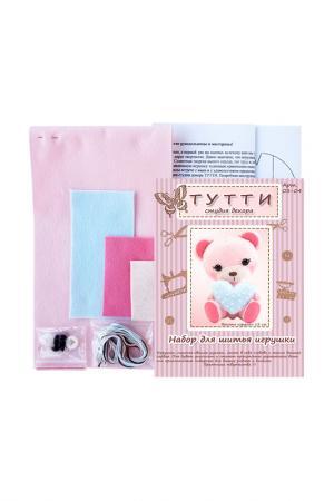 Набор для шитья Медвежонок СТУДИЯ ДЕКОРА ТУТТИ. Цвет: голубой