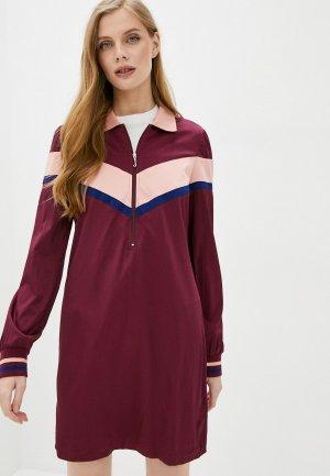 Платье Juicy Couture. Цвет: бордовый