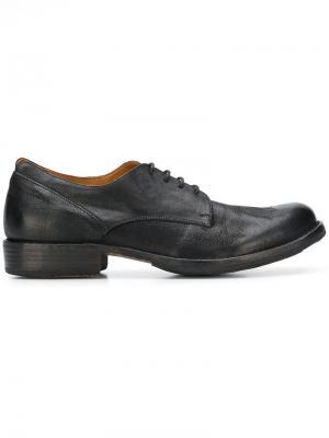 Classic lace-up shoes Fiorentini + Baker. Цвет: черный