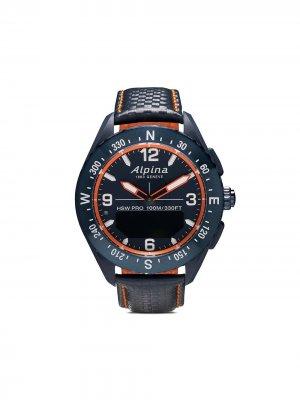 Наручные часы AlpinerX Smartwatch 45 мм Alpina. Цвет: голубой-orange