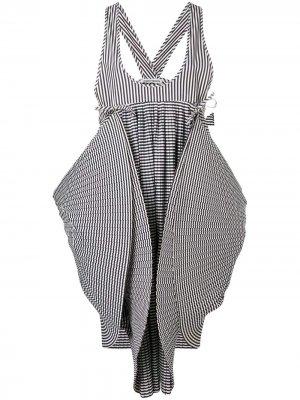 Cooling structured dress Henrik Vibskov. Цвет: черный