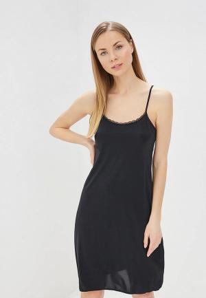 Сорочка ночная Marks & Spencer. Цвет: черный
