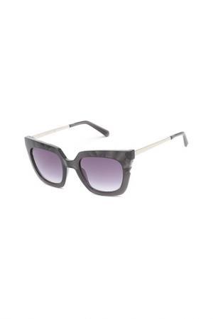 Солнцезащитные очки Swarovski. Цвет: серый