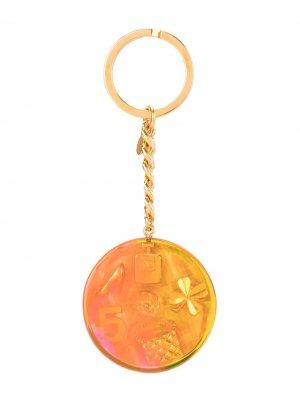 Ключница Aurora iconic 1997-го года Chanel Pre-Owned. Цвет: золотистый