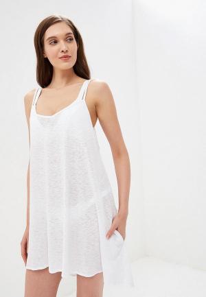 Платье пляжное Vitamin A. Цвет: белый