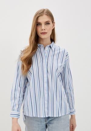 Рубашка Tom Tailor. Цвет: голубой