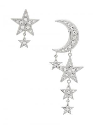 Luna earrings Ca&Lou. Цвет: металлик