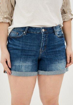 Шорты джинсовые Violeta by Mango. Цвет: синий