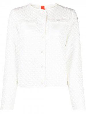 Стеганая куртка Delice Parajumpers. Цвет: белый