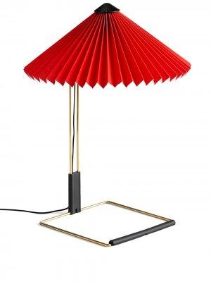 Настольная лампа Matin Hay. Цвет: красный